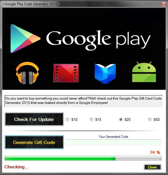 how to get google play gift card code for free