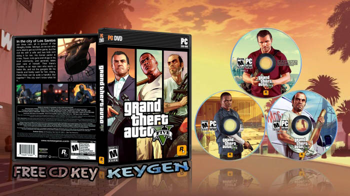 download Grand Theft Auto V Free CD Key