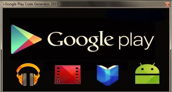 Google-play-Geschenk-Codes Werbegeschenk