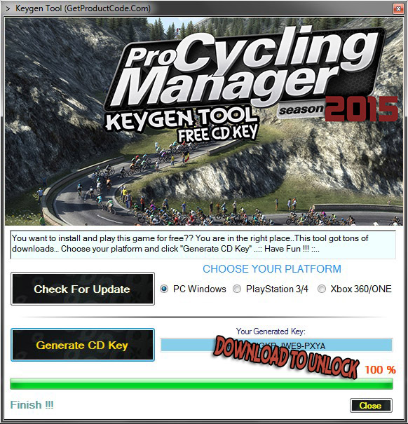 Pro Cycling Manager 2015 Free CD KEY (play this game now for free on steam)