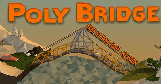 Free Download Poly Bridge Steam Code Key