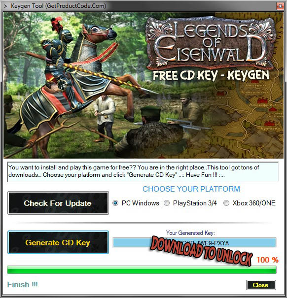 Legends of Eisenwald free cd key (steam code)