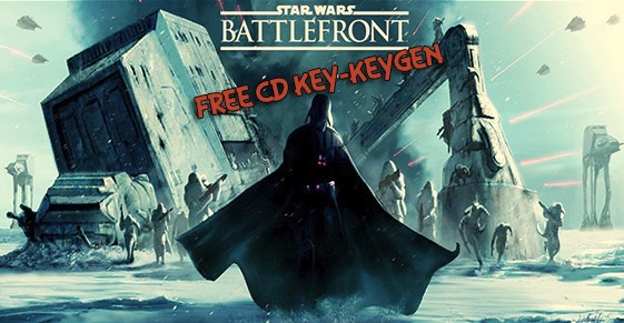 Star Wars Battlefront free cd key .. Full game and free download, product code giveaway