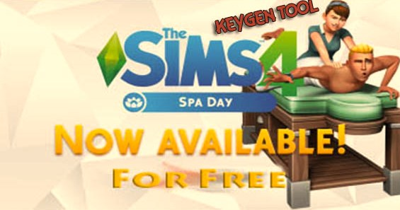 download our The SIMS 4 Spa Day Keygen for free and play this dlc today