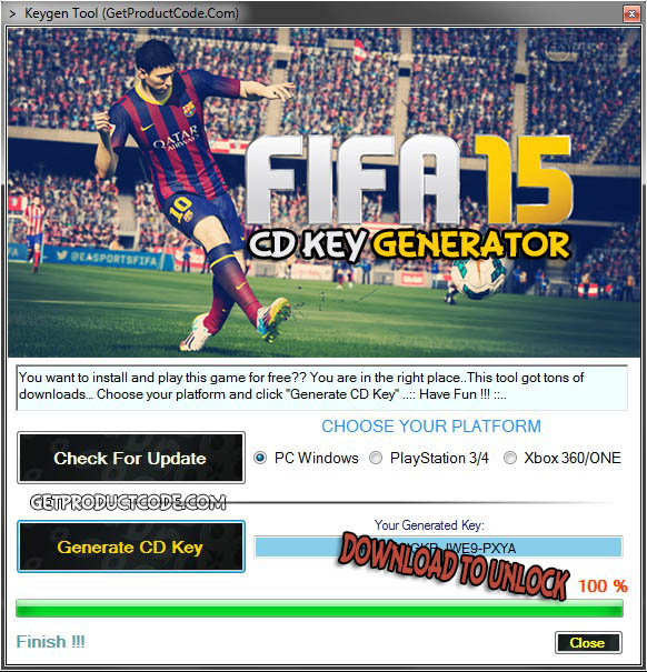 fifa 15 pc license key free