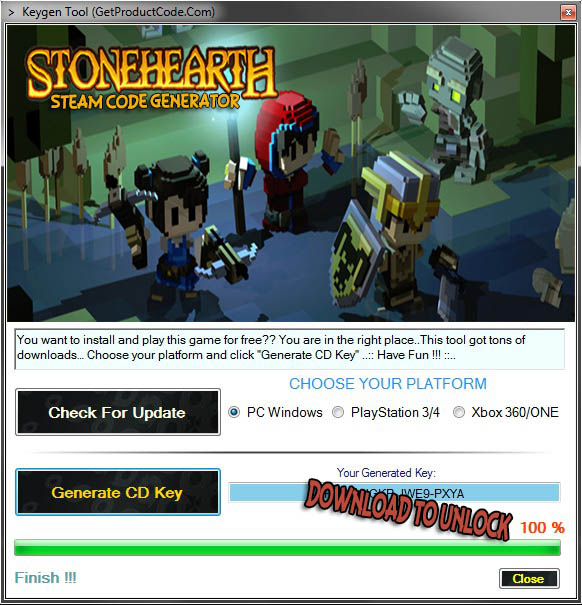 How to use Stonehearth Free Steam Code Generator
