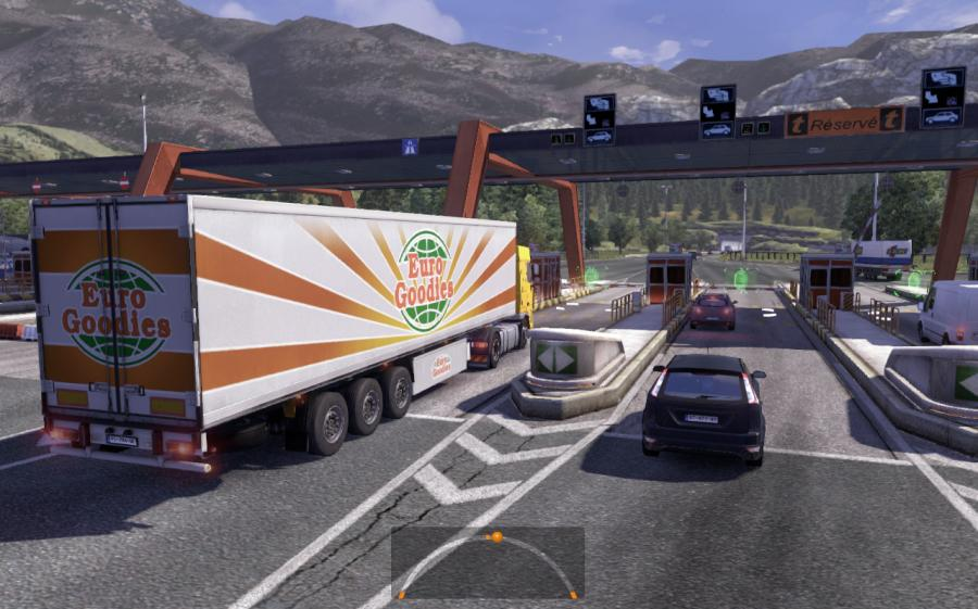 Euro Truck Simulator 2 gameplay screenshot