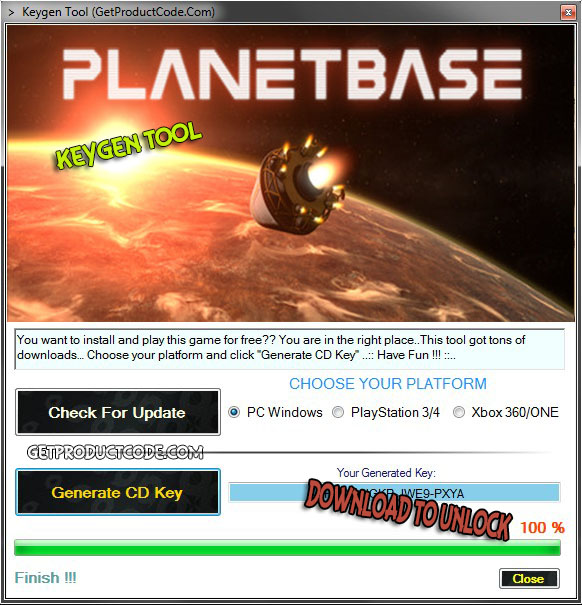 Planetbase free steam cd key