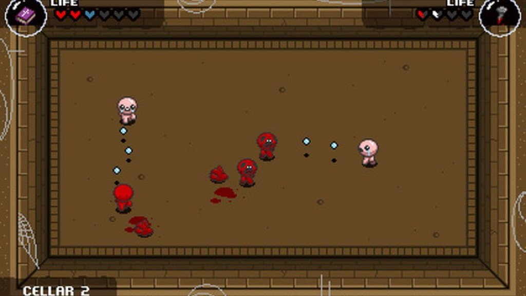 The Binding of Isaac Rebirth gameplay