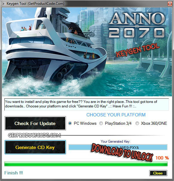 Anno 2070 cd key giveaway