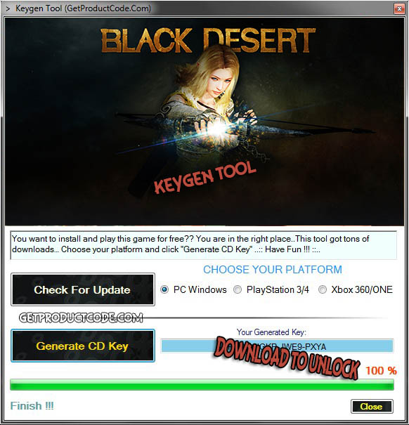 Deserto Nero cd key giveaway