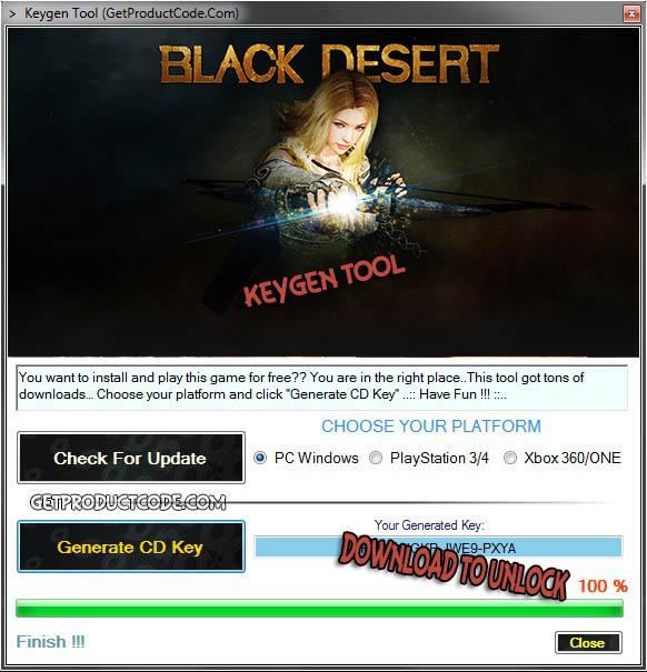 Black Desert cd key giveaway