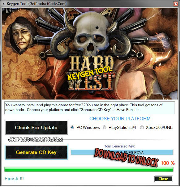 Hard West free cd key giveaway 2015