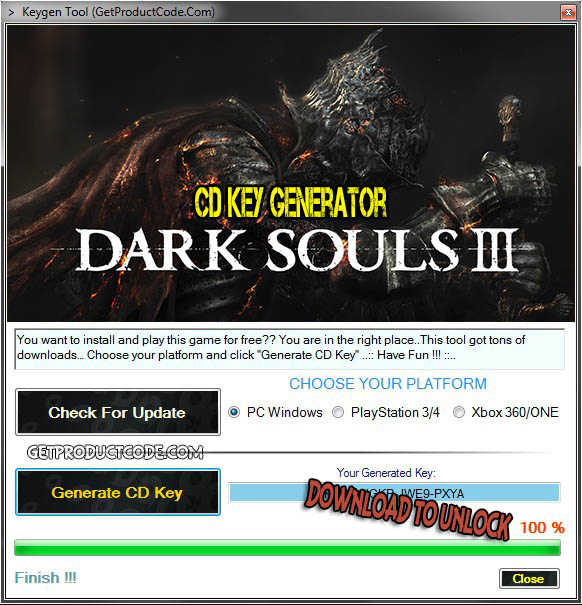 Dark Souls III free cd key giveaway 2016