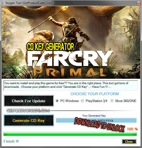 Far Cry Primal code giveaway