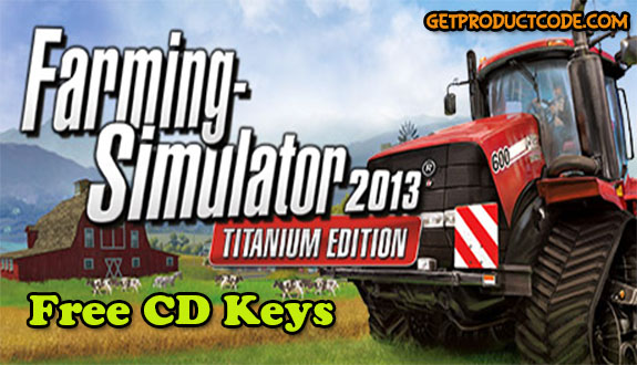 Farming Simulator 2013 key generator