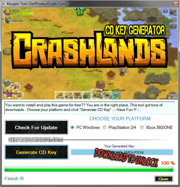 Crashlands cd key giveaway