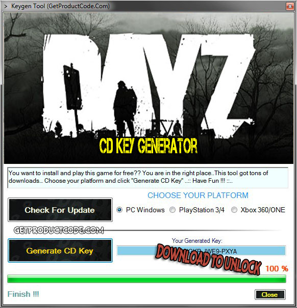 DayZ cd key giveaway