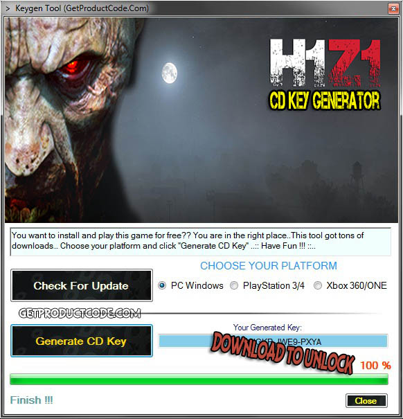 H1Z1 free cd key giveaway 2016