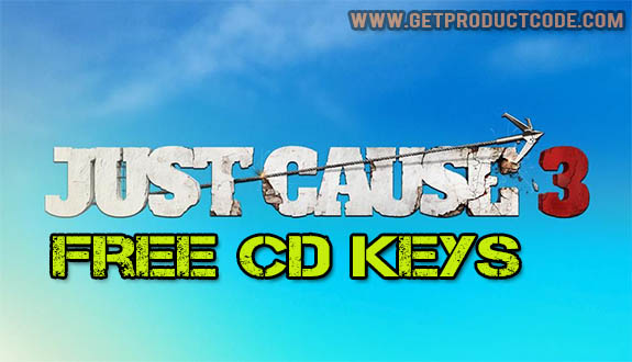 Just Cause 3 CD nøkkel koden generator