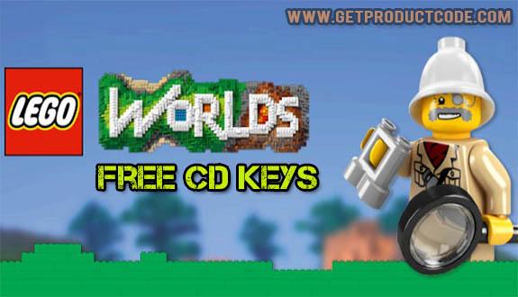 Lego Worlds product code generator