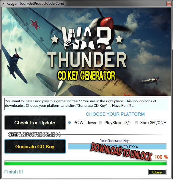 War Thunder cd key giveaway 2016