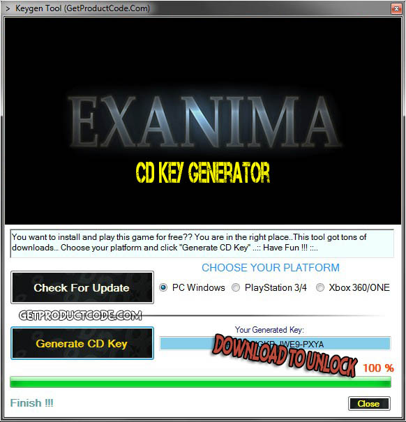Exanima cd regalo clave 2016
