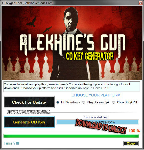 Alekhine's Gun cd key giveaway