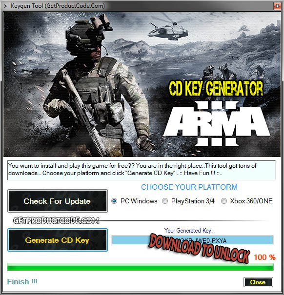 Arma 3 cd key giveaway