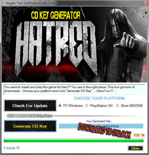 Hatred cd key giveaway