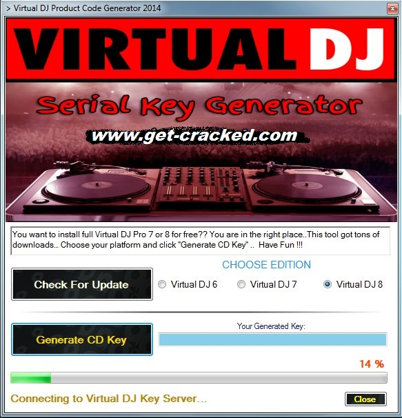 Virtual DJ 8 cd eochair giveaway 2016