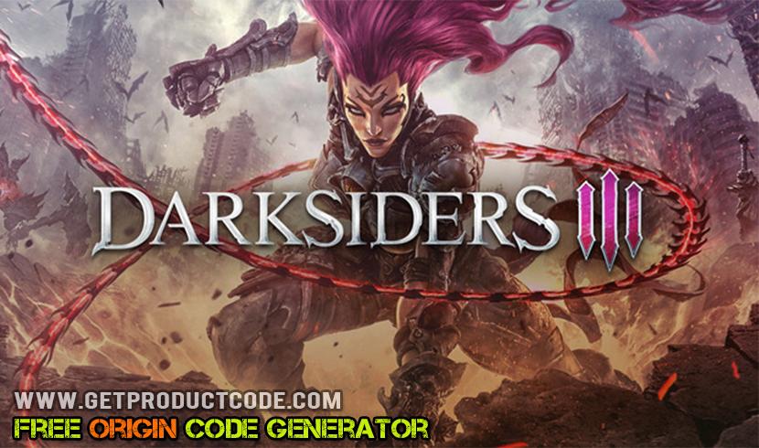 Darksiders III gratis oprindelse kodeliste