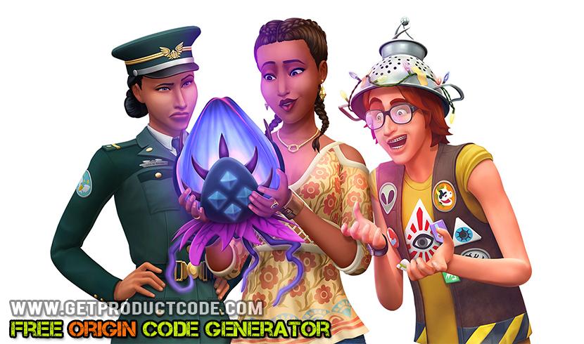 The Sims 4: Strangerville gratis opprinnelse kodelisten