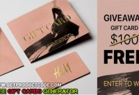 Free H&M Gift Cards