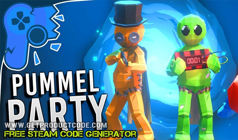 Pummel Party Steam Code Generator