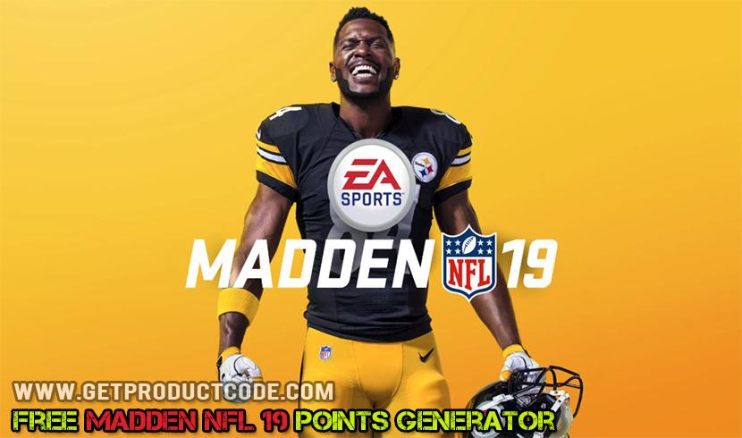 Madden NFL 19 Points Generator